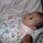 Eines der Babys