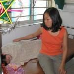 Hai Nguyen mit dem 12-jährigen Jungen