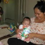 Milchpulver für die Säuglinge