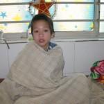 Der 12-jährige Patient