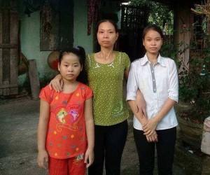 Trang+Duong va me Nhung